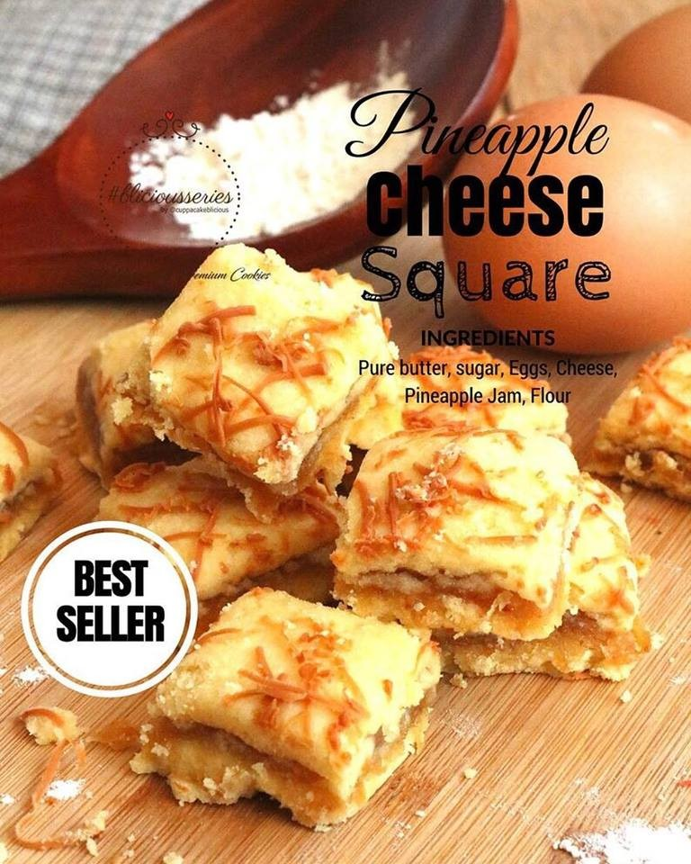 Pineaplle Cheese Square